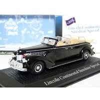Atlas Norev 1/43 1945 Lincoln Continental Sunshine Limousine Diecast Model Car