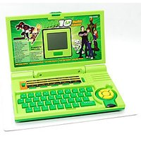 BEN 10 - English Learner Laptop For Kids Green