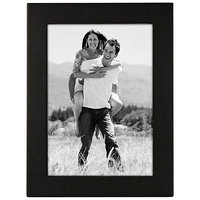 Classy Black Wooden Photo Frame (photo Size - 5 By 7)