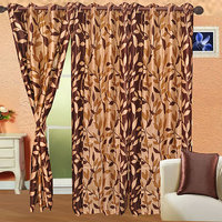 Dream Decor Pack Of 2 Designer Door Curtain - 4 Options