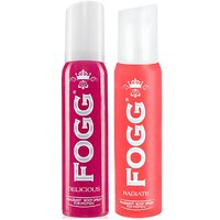 Fogg Delicious & Radiate Fragrant Body Spray Combo For Women
