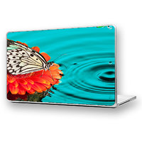BUTTERFLY DROPS Laptop Skin High Quality - DW-33 - High Quality 3M Vinyl