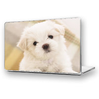 MALTESE PUPPY Laptop Skin High Quality - DW-32 - High Quality 3M Vinyl