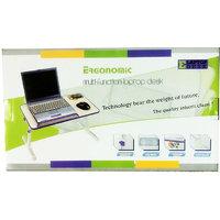 Ergonomic Portable Aluminium Etable Adjustable Laptop Table With Fan