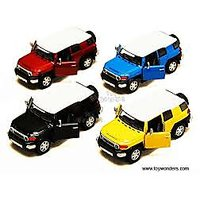 Kinsmart Toyota Fj Cruiser Metal Model Car
