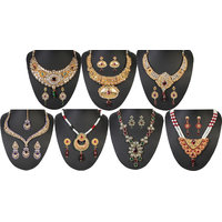 Kriaa Krisha 7 Pcs Jewellery Set Combo - 10002-04