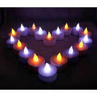 Smoke Less Led Candles Battery Operated (Set Of 6)