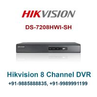 Hikvision DS-7208HVI-SH 8 Channel Digital Video Recorder - HDMI - 8 Channel DVR