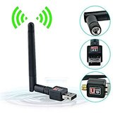Fleejost WiFi 600 Mbps USB WiFi Dongle 600Mbps Wireless Adapter 802.11n/g/b with Antenna