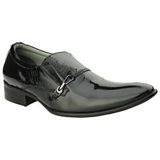 Delize Men's Stylish Black Footwear