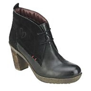 Delize Nice Black Womens Footwear