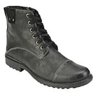 Delize Trendy Black Mens Footwear
