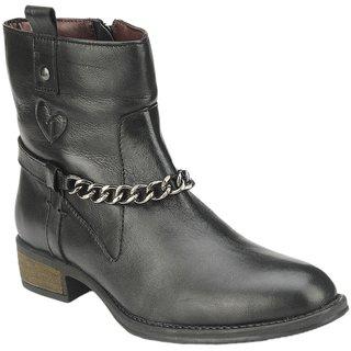 Delize Voguish Black Womens Footwear