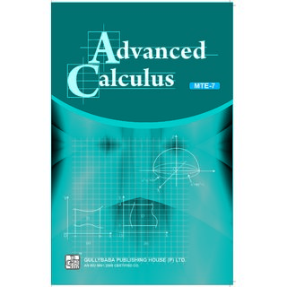 MTE7 Advanced Calculus (IGNOU Help book for MTE-7  in English Medium)