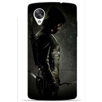 Saledart Lg Google Nexus 5 Back Case And Cover Green & Black Lgn5M9Y14DC08