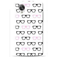 Saledart Lg Google Nexus 5 Back Case And Cover White & Black Lgn5M9Y14DC17