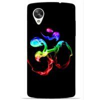 Saledart Lg Google Nexus 5 Back Case And Cover Multi-Colour & Black Lgn5M9Y14DC36