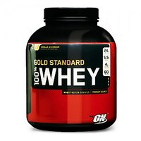 On 100% Gold Standerd Whey Protine (5Lbs) Strawberry