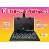 10 Inch Tablet PC USB Keyboard For Ipad Apad Epad Funpad Tablet PC