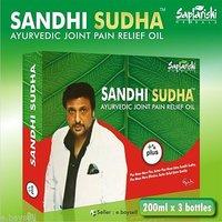 100% ORIGINAL 3 BOTTLES PACK SAPTARISHI SANDHI SUDHA PLUS JOINT PAIN RELIEF OIL