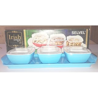 IRISH  SUPERB  SERVING TRAY  WITH  3 BOWL