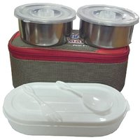 Hot Lunch Box With 3 Containers