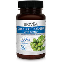 GREEN COFFEE BEAN WITH SVETOL 800mg 60 Veggie Capsules