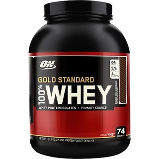 ON Gold Standard 100% Whey Protein Vanilla Ice Cream 5 Lbs