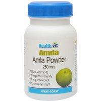 Buy 1 Get 1 Free HealthVit AMDA Amla Powder 250 Mg 60 Capsules  (Pack Of 2)