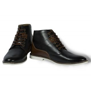 Stylox Black Color Stylish Boot