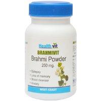 Buy 1 Get 1 Free HealthVit BRAMHIVIT Bramhi Powder 250g 60 Capsules (Pack Of 2)