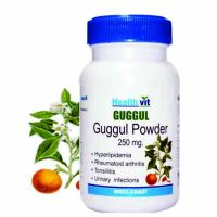Buy 1 Get 1 Free HealthVit Guggul Powder 250 Mg 60 Capsules (Pack Of 2)