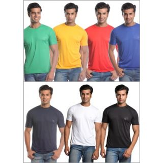 Men's T-shirts - Pack of 7