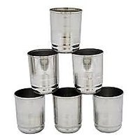 Combo Of 6 Pc Glass Set\ Multi Crusher With Free 2 In 1 Peeler