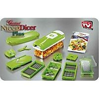 Super Chopper Plus Multi Vegetable Cutter Dicer - 6181516