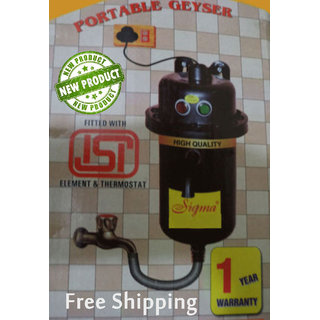 Instant and portable geyser at best rate