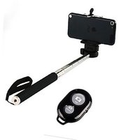 Selfie Monopod With Bluetooth Remote