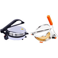Zeomark Jumbo Roti Maker With Puri Maker