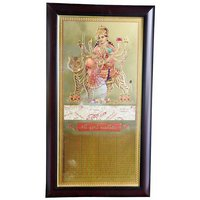 Durga 24 Ct Gold Plated Frame
