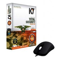 K7 Total Security Antivirus  1 User With  Dell Usb Mouse Combo Pack
