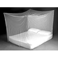 Traditional Indian Mosquito Nets For Double Bed White