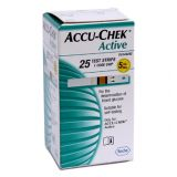 Accu-chek Active Test Strip Box (25 Strips)