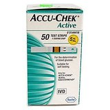 Accu-Chek Active Test Strip Box (50 Strips)