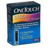 One Touch Ultra Test Strp Box 25 Strips