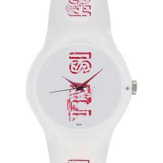 Fastrack Analog White Resin Watch (9915PP12) - Women