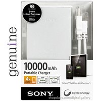 SONY CP-F10L Universal 10000 MAH USB Extended Battery Pack Power Bank In BLACK