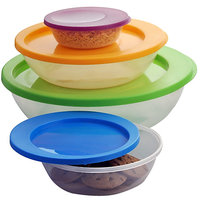 Gromo Plastic Container - Set Of 4 - JFL018