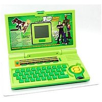 English Learner Laptop For Kids Green