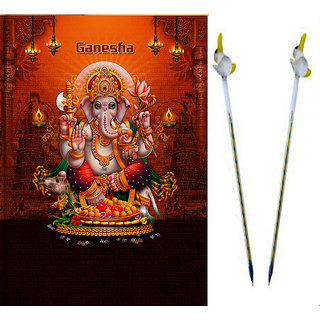 Diary 2015 Ganesh with Set of Glass Pen