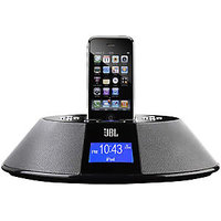 JBL On Time 200P Loudspeaker Dock For IPod & IPhone With Clock & AM/FM Radio 200